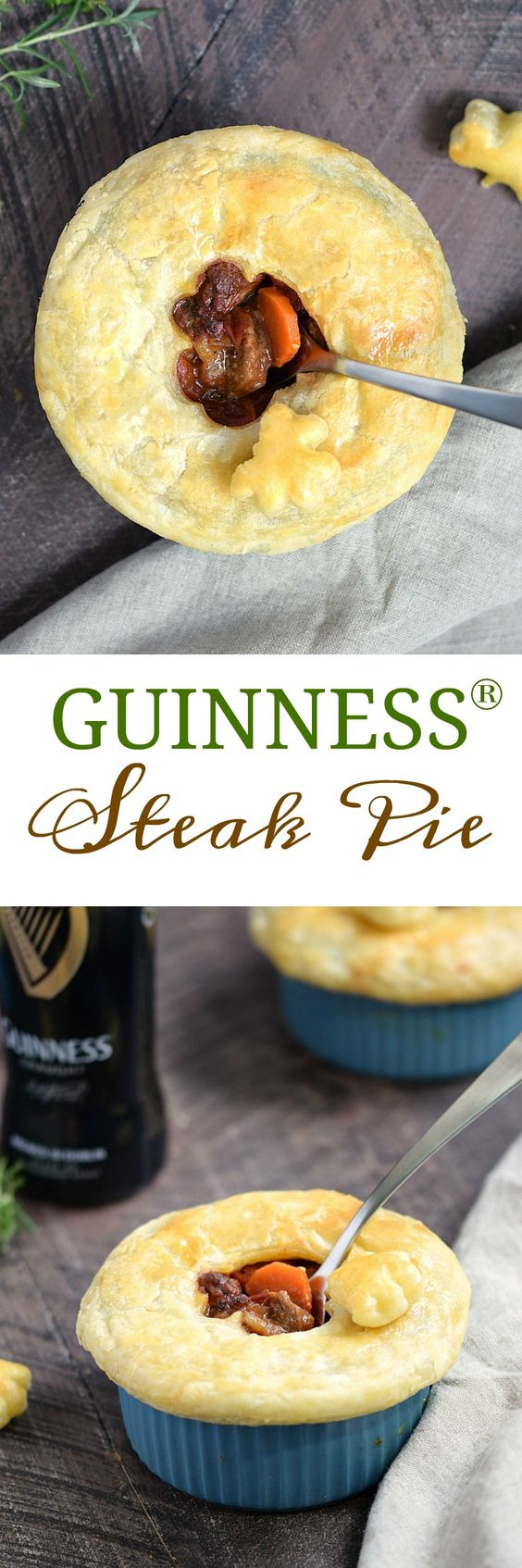 Guinness Steak Pie - Cooking With Curls | Recipe | Steak ...