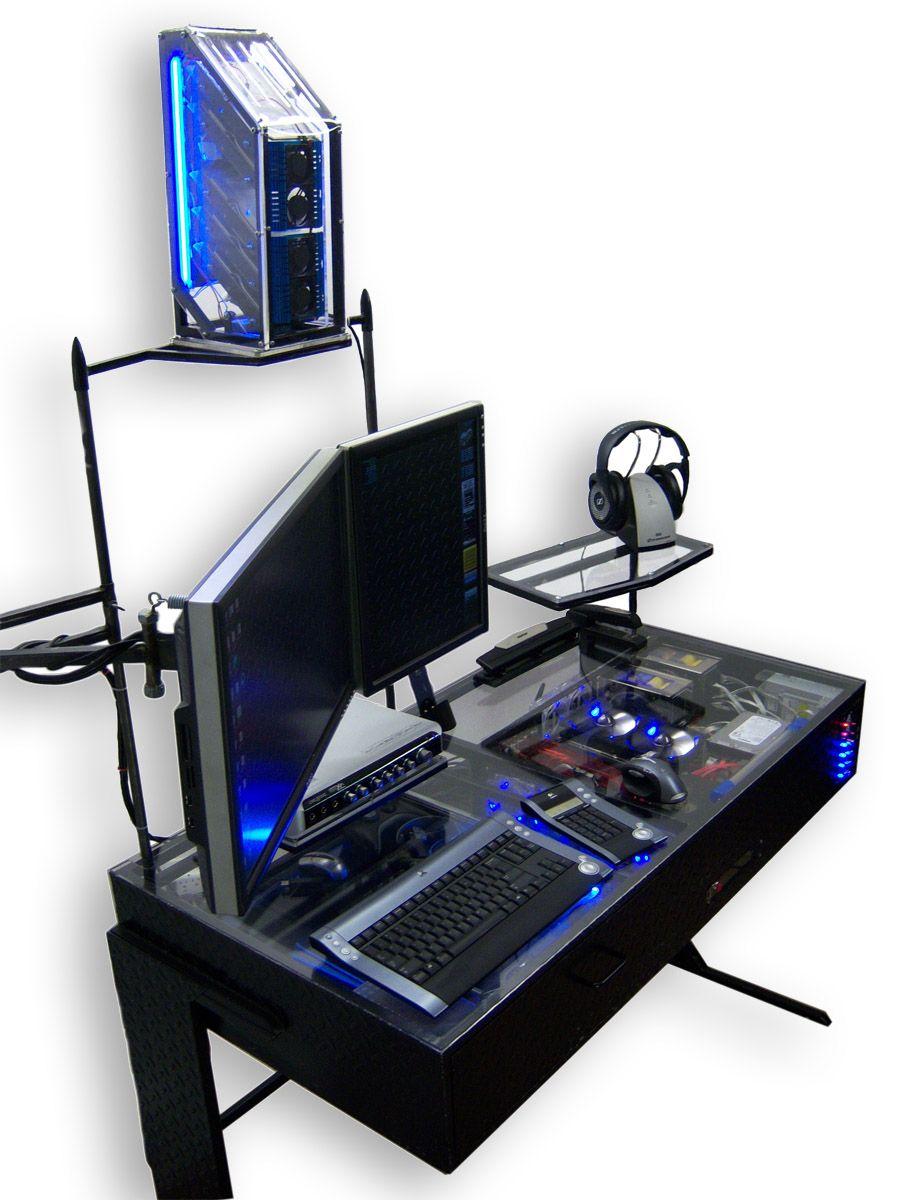 Desk mod bureau boitier Things I need Pinterest Bureaus and
