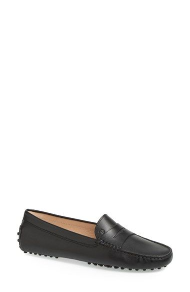 91fc3756a99 Free shipping and returns on Tod s  Gommini  Driving Moccasin (Women) at  Nordstrom.com. A classic driving moc designed with chic loafer styling is  cast in ...