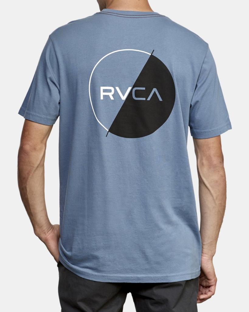 RVCA Boys Big Jungle Short Sleeve Crew Neck T-Shirt