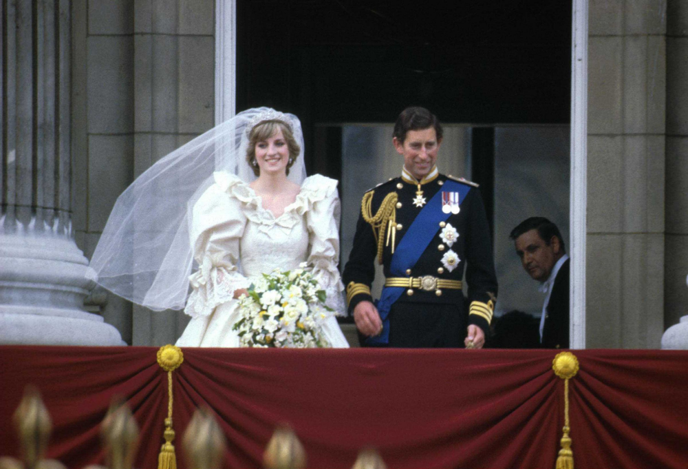 Princess Diana's dress had a 25foot train.What Happened