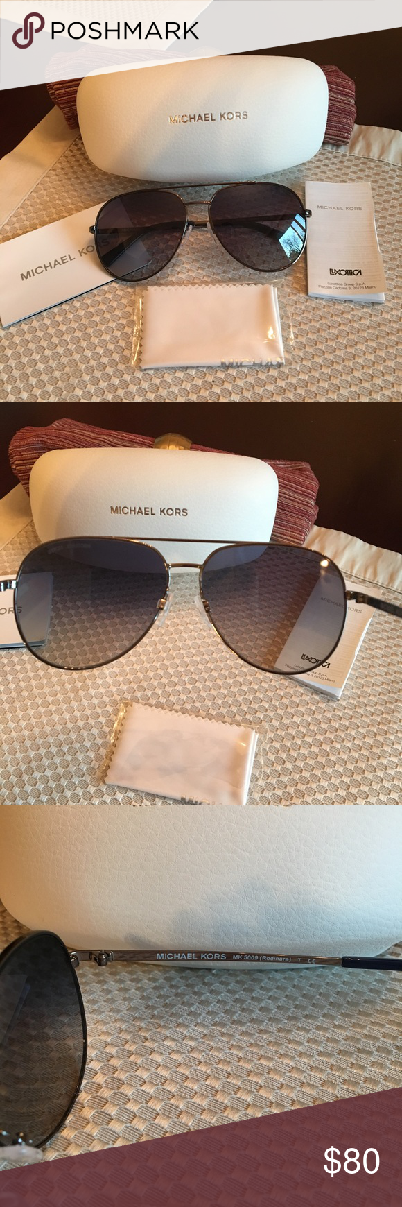 3a464f0d8e Authentic Michael Kors Rodinara Aviators NWOT New without tags.. never  worn! MK model