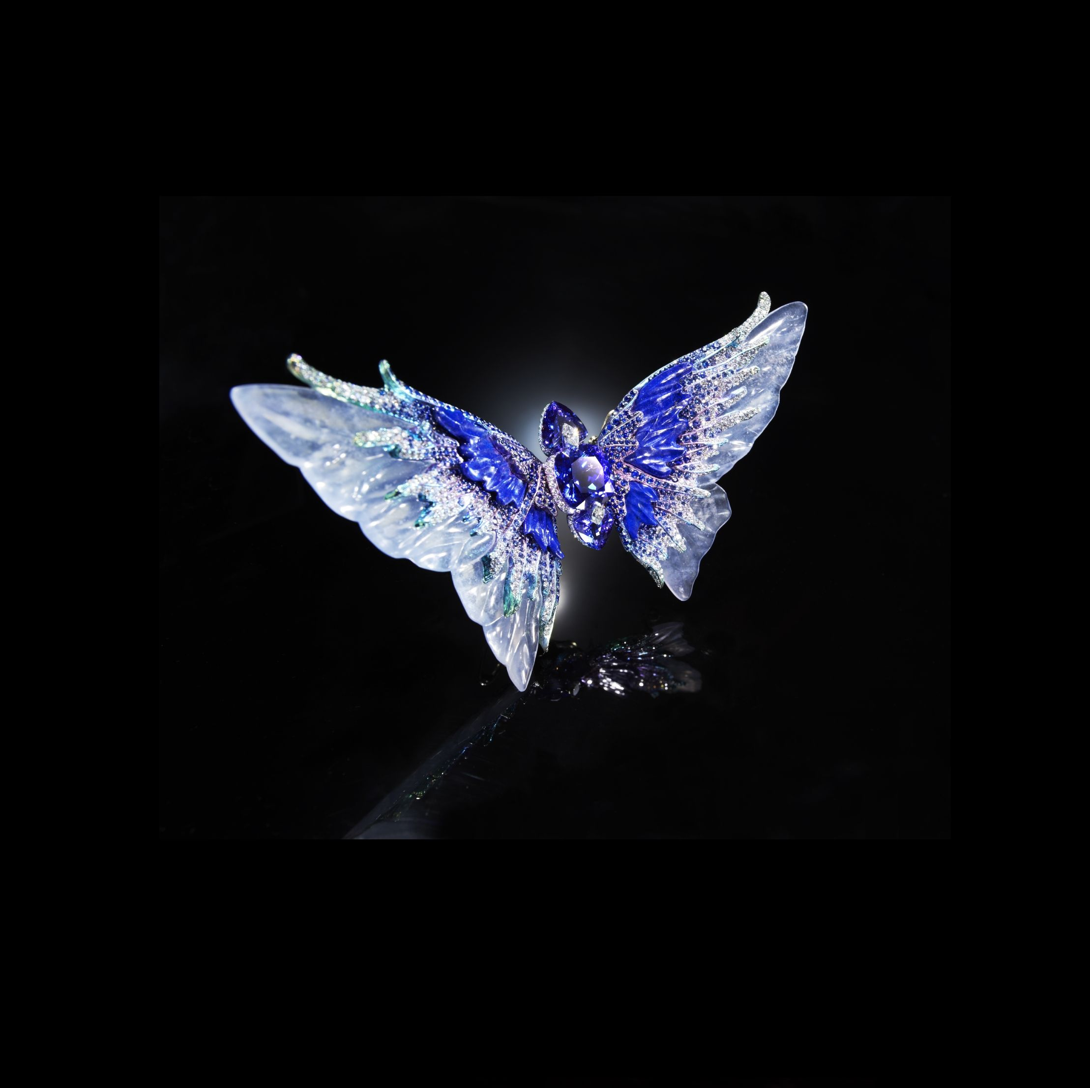 butterfly products img sapphire diamond brooch