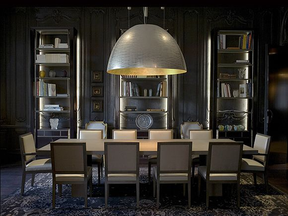 Tristan Auers Dining Room Not Loving The Chairs But Very Cool Vibe And Light Christian LiaigreClassical ArtModern