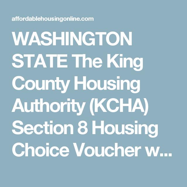 King County Housing Authority Tukwila Washington King County Washington Author