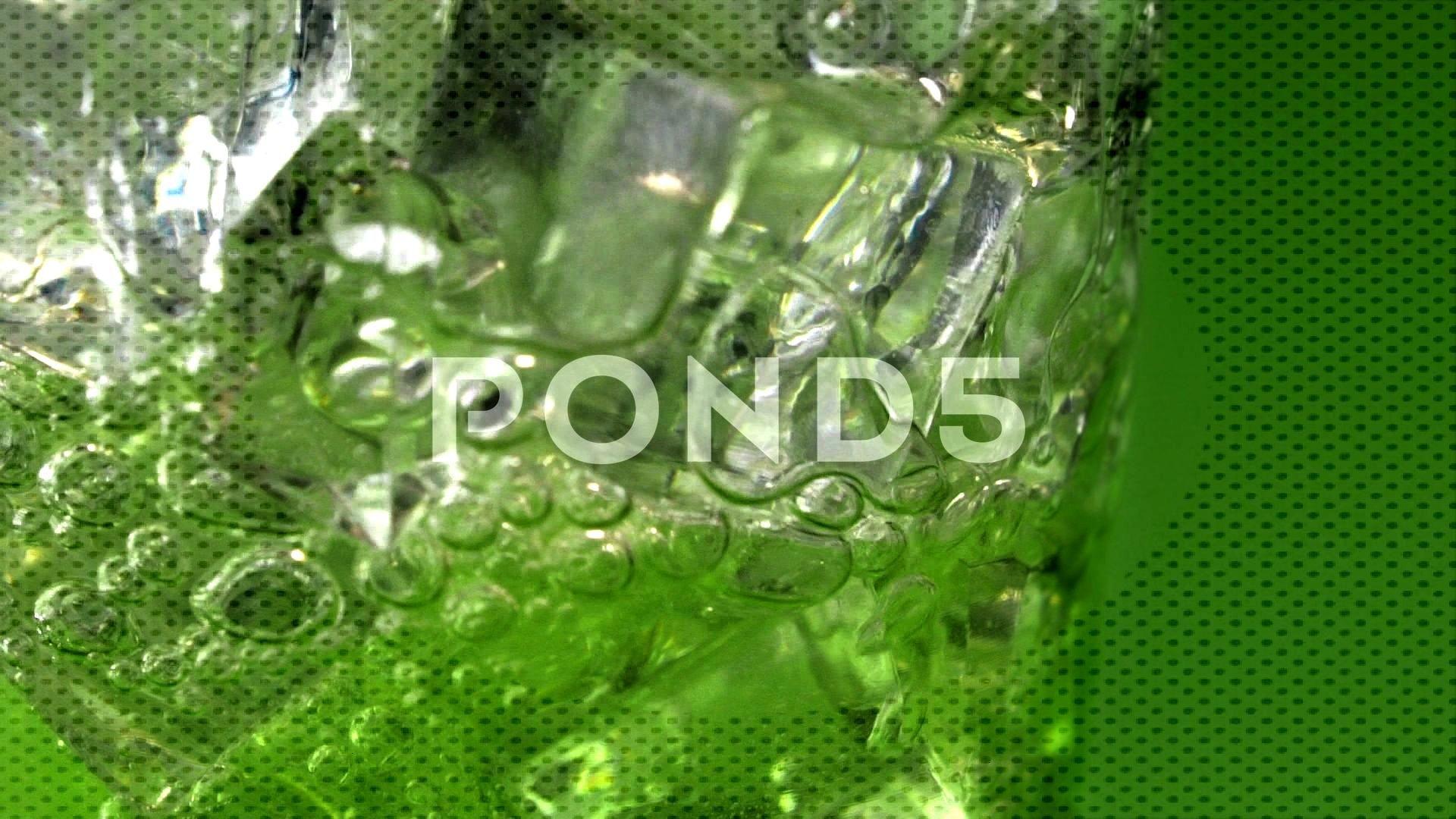 Refreshing Lemon Lime Soda Pour on Green Stock Footage ,#Lime#Soda#Refreshing#Lemon