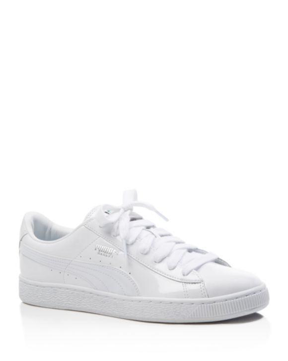 c358fe2916c9f PUMA Women's Basketball Patent Lace Up Sneakers | Bloomingdales's ...