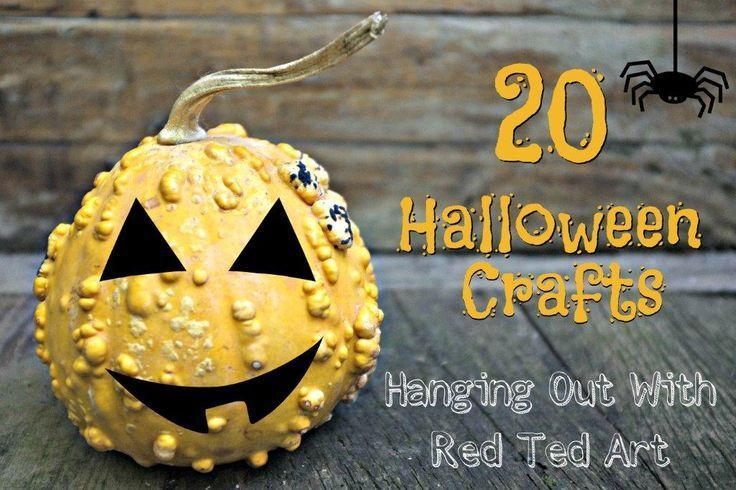 Halloween Crafts Ideas Hangout Craft, Halloween fun and Holidays - easy homemade halloween decorations for kids