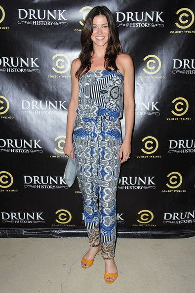 Adrianne Palicki Photos Photos - Actress Adrianne Palicki arrives at Comedy Central's 'Drunk History' season 2 premiere party at the Alex Theatre on June 29, 2014 in Glendale, California. - 'Drunk History' Season 2 Premiere Party