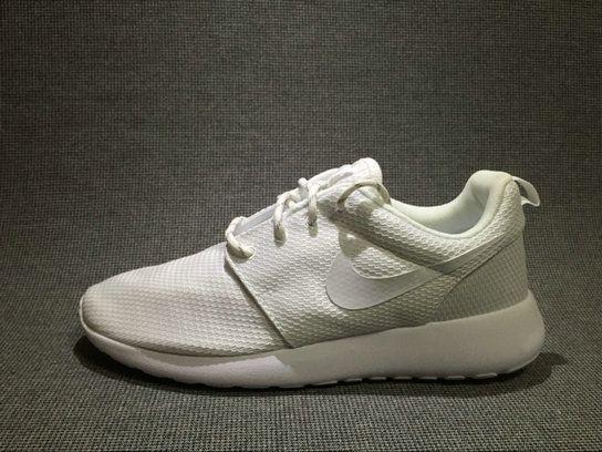 2017 511881111 Nike Roshe Run One White