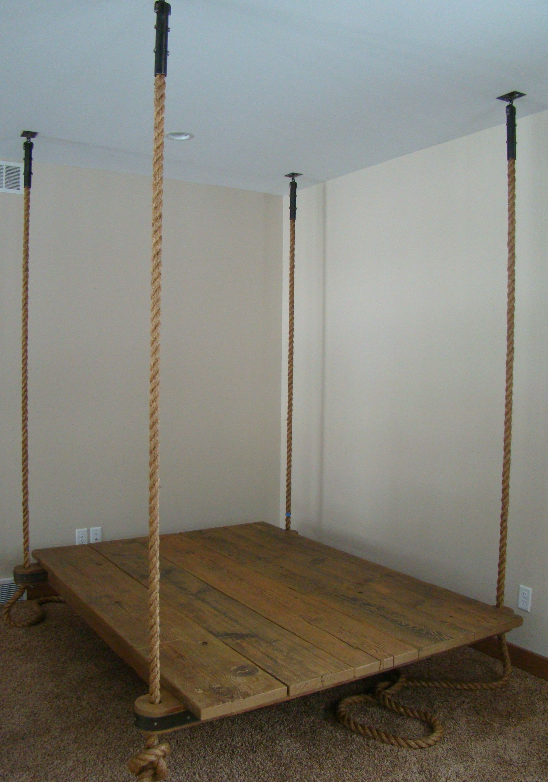 New Hanging Bed Preview Hanging Beds Wooden Bed