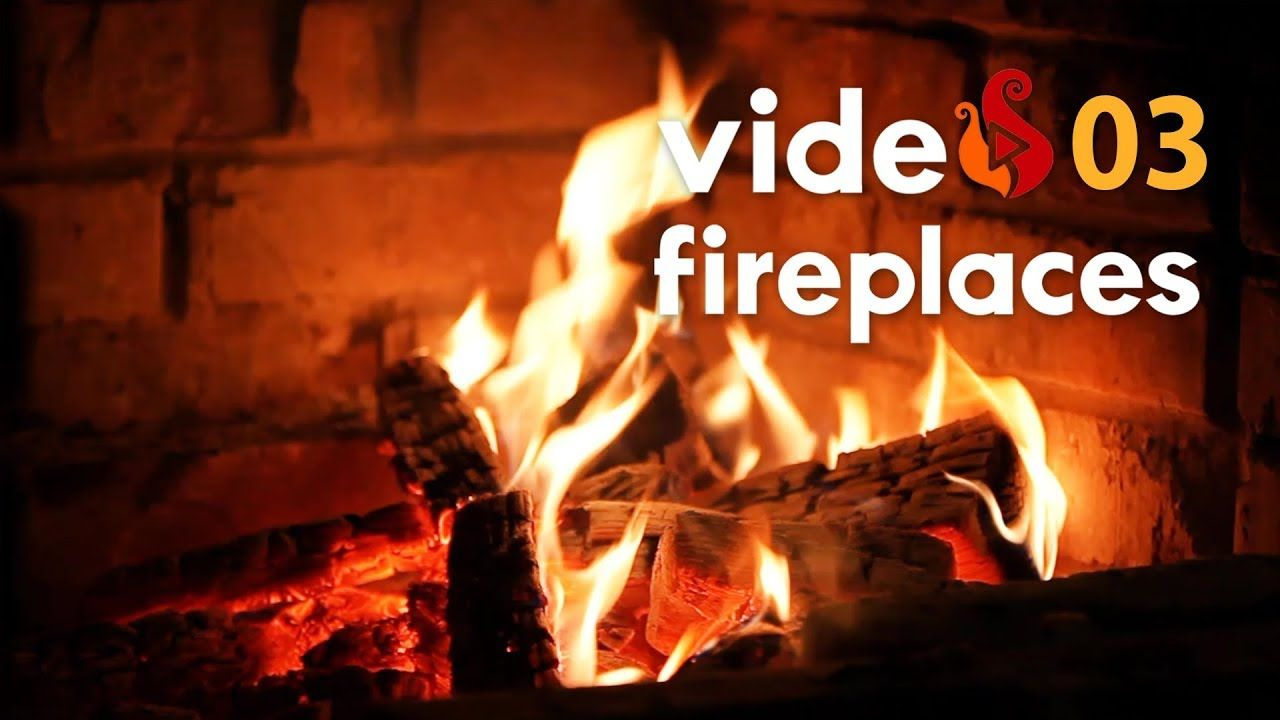 🔥 VF03🔥 3 Hours relaxing Fireplace with Relaxing Crackling