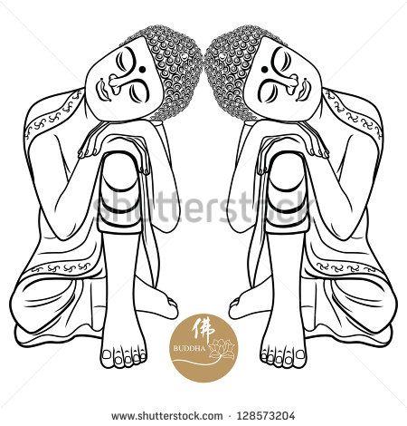 Bouddha Illustrations de stock et bandes dessinées   Shutterstock