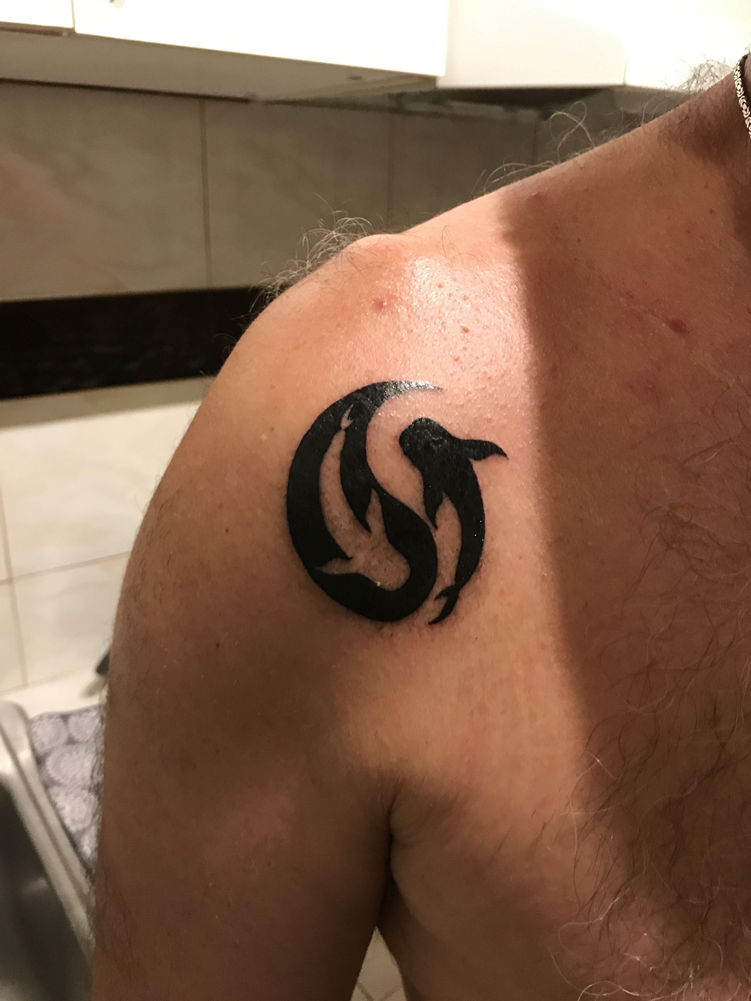 My Whale Shark Yin Yang Tattoo Shark Tattoos Whale Shark Tattoo Tattoos
