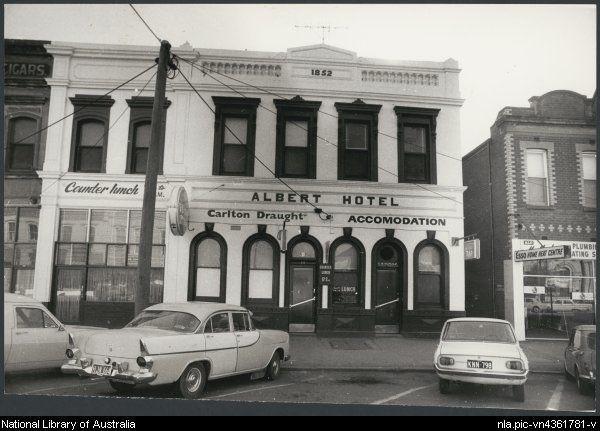 1936 The Albert Hotel Bendigo Victoria Ca