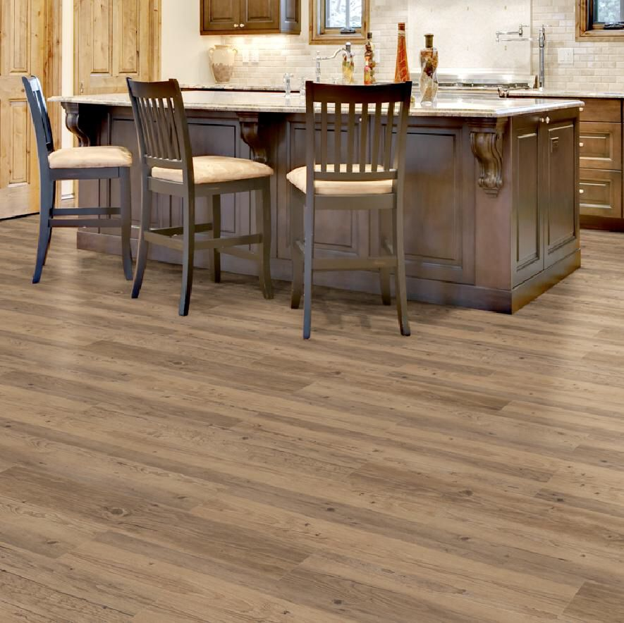 Beautiful brown realistic Vinyl wood Flooring Available at