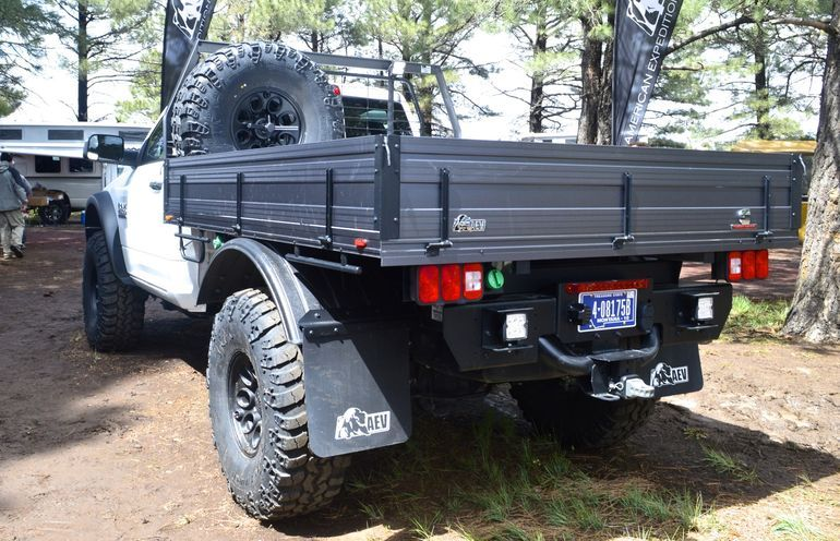 American Expedition Vehicles' Ram 2500 tray back