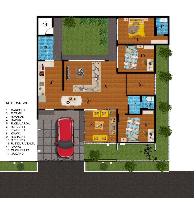 Desain Terbaru Denah Rumah Minimalis Sederhana untuk Kamar