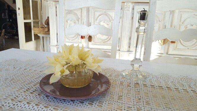 La douceur des premières fleurs de printemps envahissent la maison de Marie