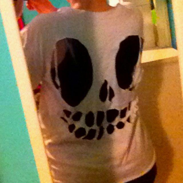 DIY Skull face!