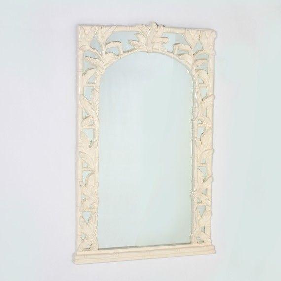 Jan Showers Wall Decor Mirrors Faux Bamboo Mirror C