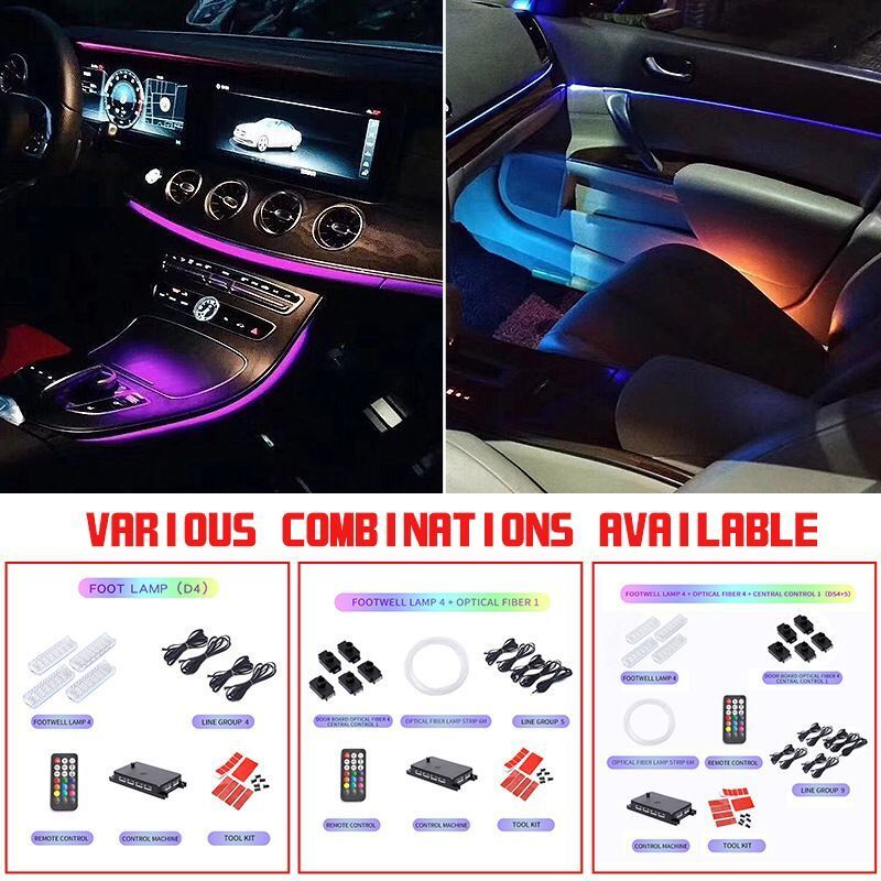 [FREE SHIPPING] Car Interior Decorative Led Ambient Door