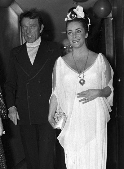 Brides Elizabeth Taylors Wedding DressesRichard Burton