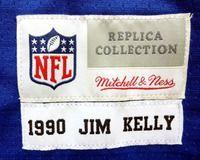 finest selection 25258 7ef96 Jim Kelly Autographed Blue Buffalo Bills Mitchell & Ness ...