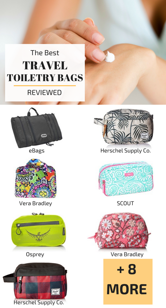 Best Travel Toiletry Bags 2018 Comparison Chart Travel Gear