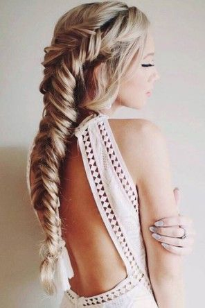 20 Fishtail Braid Hairstyles To Make You Look Cuter With Pictures Hair Styles Wedding Hairstyles For Long Hair Womens Hairstyles