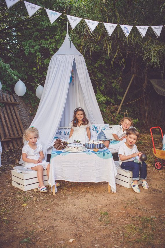 Dreamy kids Play Canopy White /organic cotton hanging Tent upper part canvas fabric  sc 1 st  Pinterest & Dreamy kids Play Canopy White /organic cotton hanging Tent upper ...