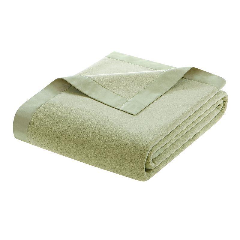 bbb970fc17 Berkshire Blanket Seaside Striped Acrylic Blanket (Navy Grey