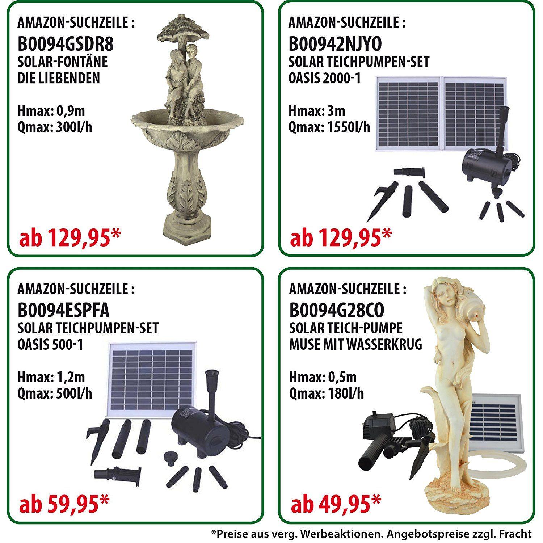 solar brunnen solar springbrunnen gartenbrunnen zierbrunnen solar - Deko Solar Springbrunnen Mit Akku Set Led Balkon Terrasse Solarbrunnen Zierbrunnen Ebay