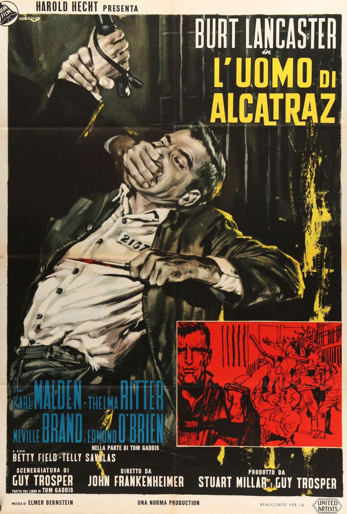 Birdman Of Alcatraz 1962 John Carter Of Mars Adventure
