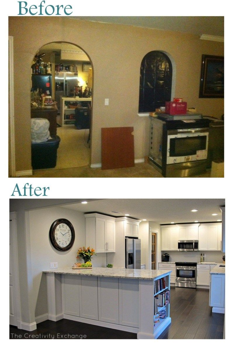 20+ Small Kitchen Renovations Before And After