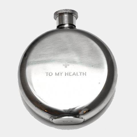 Hip Flasks - To My Health, 3oz