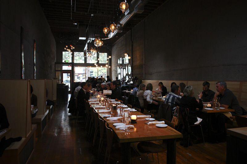 Tavolata Seattle Wanderings Pinterest Restaurant Design