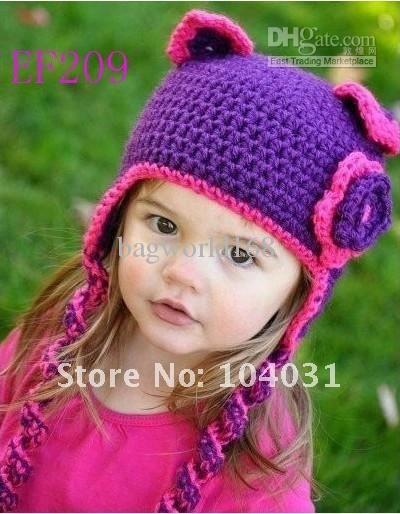 free girls crochet pattern hat - Google Search | Crochet - Hats ...