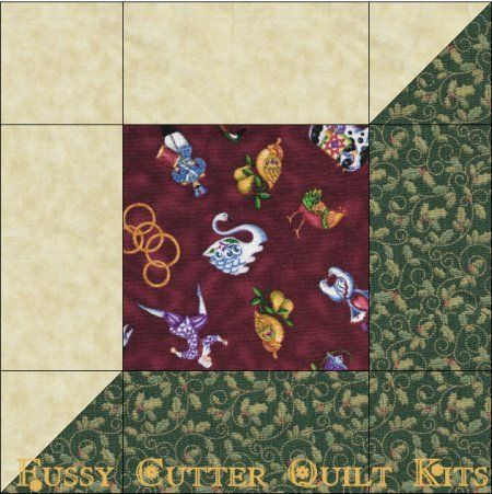12 Days of Christmas Fabric Fast Easy Pre-Cut Quilt Blocks Kit ... : pre cut quilt blocks - Adamdwight.com