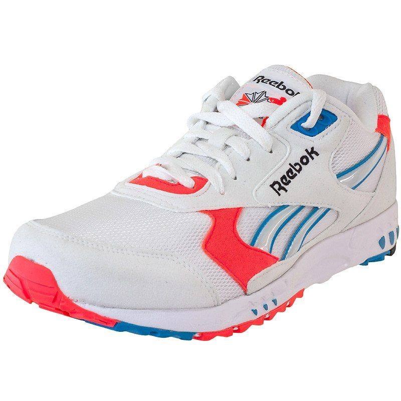 Sneaker Reebok Inferno OG white blue orange  2c88e10d29f3