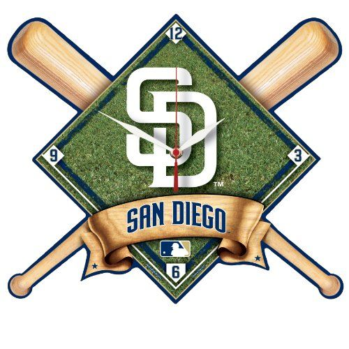 Padres High Definition Clocks
