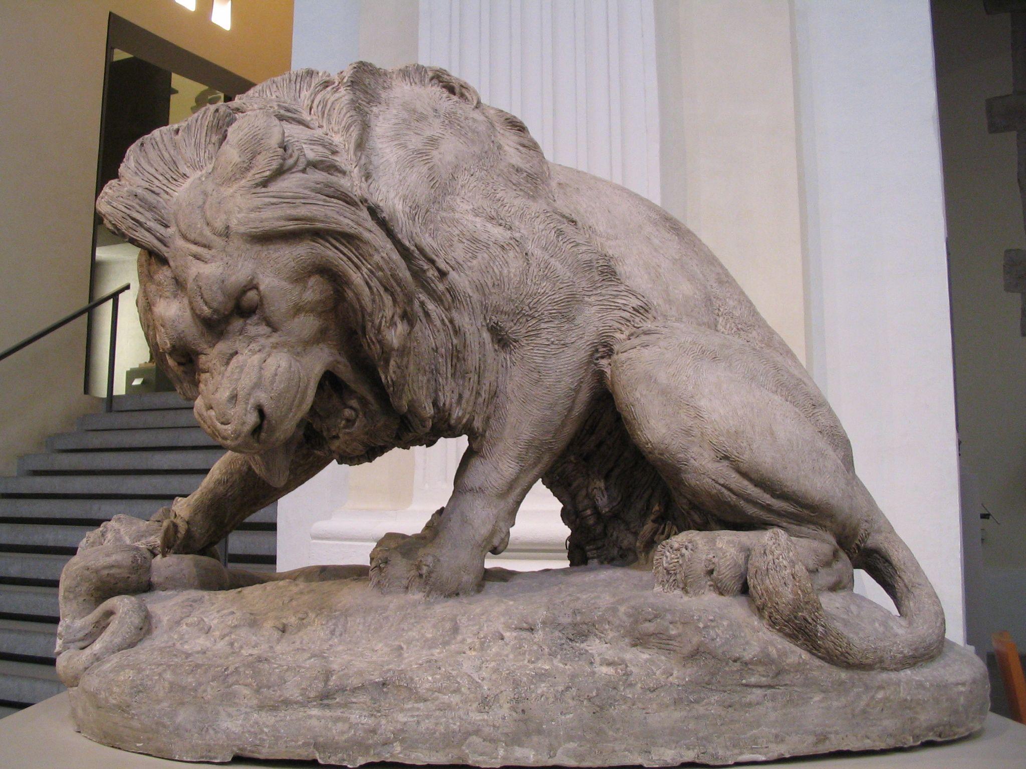 Lyon Lion, France