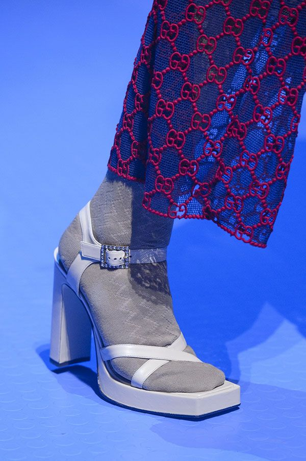 Gucci shoes, Spring shoes, Runway shoes