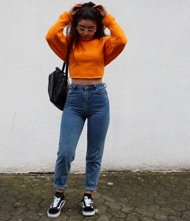 Pinterest Anetmendez 90s Fashion Outfits Aesthetic Clothes Cropped Hoodie Outfit