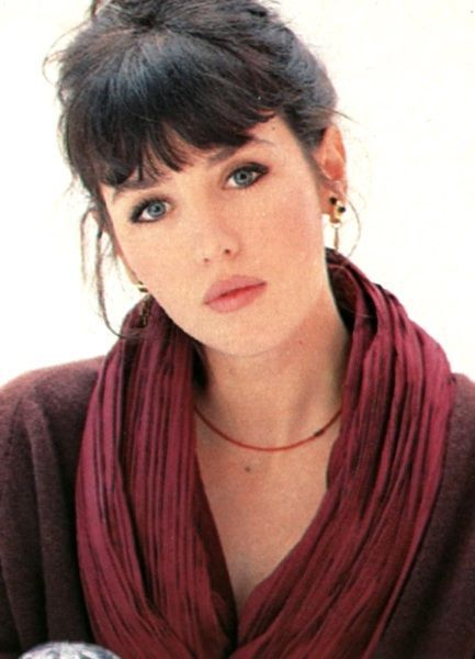 Isabelle Adjani - French actress You are two parts her and two parts .............