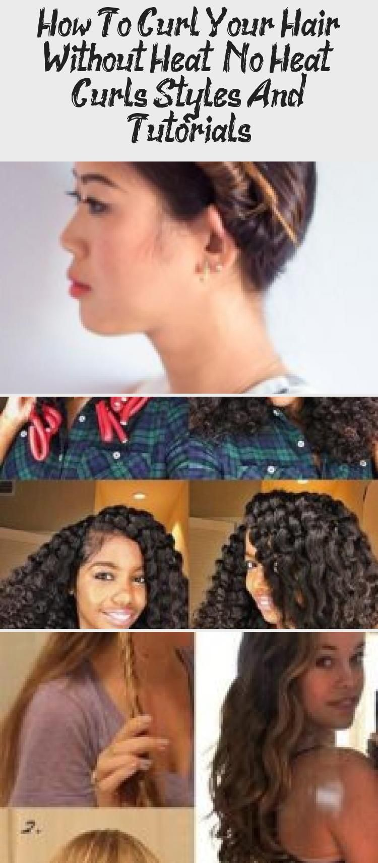 My Blog En Blog In 2020 How To Curl Your Hair Damp Hair Styles Curls No Heat