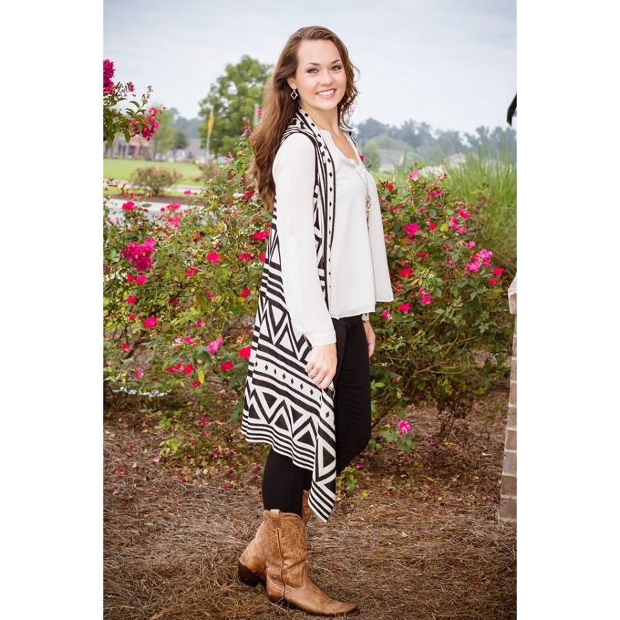 Aztec Sweater Vest - Lots of great deal on vests and jackets! Love ...