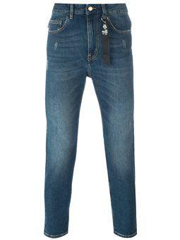 peace patch slim jeans