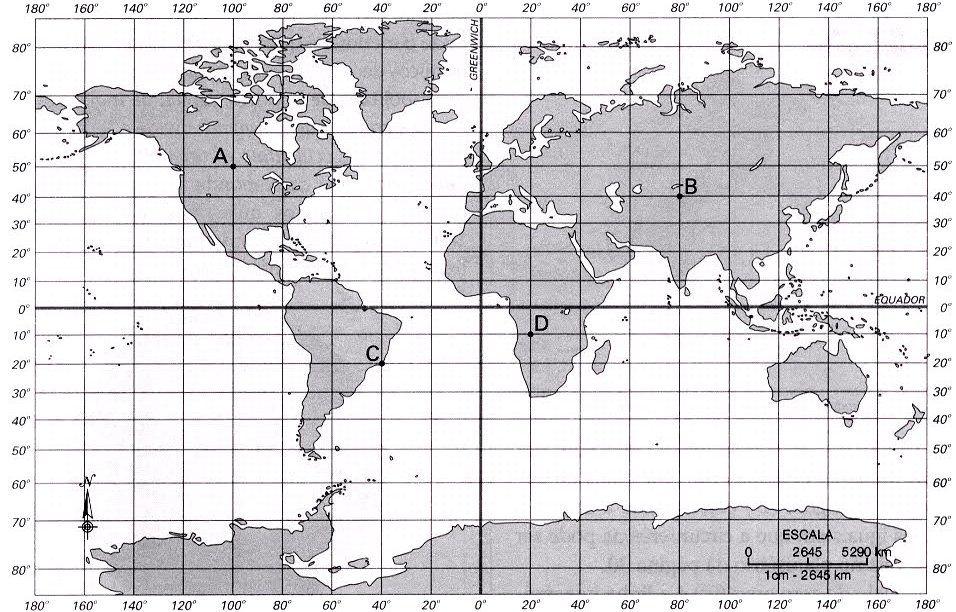 Resultado De Imagen De Mapa Coordenadas Geograficas Coordenadas Geográficas Coordenada Geográfica Geografia