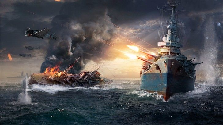 World Of Warships Game High Resolution War Wallpaper 1920x1200 World Of Warships Wallpaper Warship Battle Warship
